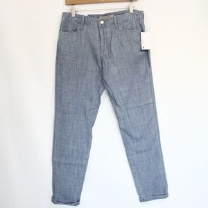 Joes Jeans Billie Ankle Pants sz 27 New Chambray